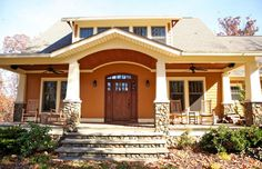 Craftsman House Plans: The Langford