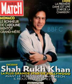 SRK - Paris Match magazine cover November 2012 (France)
