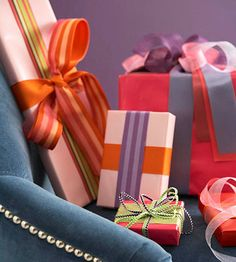 Ribbon Wrapping