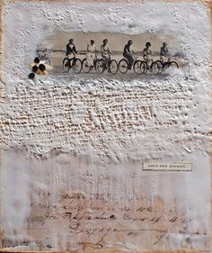 ⌼ Artistic Assemblages ⌼ Mixed Media & Collage Art - Johwey Redington