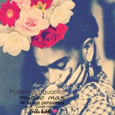 Image uploaded by Jazmin Vilchis. Find images and videos about phrases, frases en español and frida kahlo on We Heart It - the app to get lost in what you love. Woman Quotes, Me Quotes, Qoutes, Diego Rivera, Citations Frida, Frida Quotes, Frida And Diego, More Than Words, Spanish Quotes