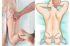 Sciatica is an aggravating pain that felt from the lower end of the back down to the back of the thigh. It happens because of aggravation . Sciatica Massage, Reflexology Massage, Sciatica Stretches, Sciatica Symptoms, Massage Tips, Thai Massage, Massage Therapy, Partner Massage, Health Fitness
