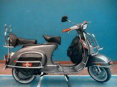 Terjual Vespa PTS 100cc Full Aksesoris Mulus warna Steel Grey | KASKUS Vespa Moped, X Car, Motorcycle, Bike, Steel, Grey, Vehicles, Jazz, Vespas