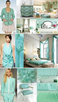 tiffany blue SS12 RUNWAY INFLUENCES FUSE WITH INTERIOR DESIGN : FASHION FUSION