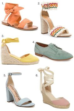Spring is in the air and these are some of my favorite shoes for the season!  #SpringStyle #ShopStyle #MyShopStyle #shopthelook