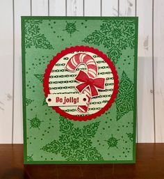 Stamps, Paper, Ink Create! Christmas Cards To Make, Christmas Candy, Xmas Cards, Christmas Themes, Crochet Christmas, Poinsettia Cards, Christmas Catalogs, Bird Cards, Card Sketches