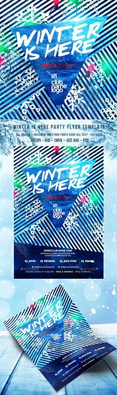 Summer Flyer Bundle Vol04 Summer, Party flyer and Flyer template
