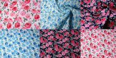Rose Garden Poly Cotton Fabric from WeaverDee.com