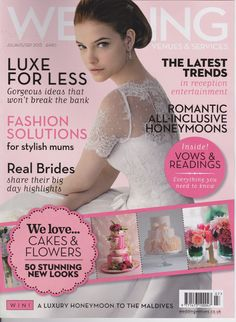 Wedding venues and services- Aug-sept 2013 : Luxe for less : advices from Little Eglantine Typical Girl, Page Boy, To My Daughter, Wedding Venues, Romantic, Bride, Stylish, Magazine, Beauty