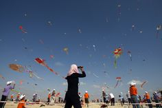 Kite Flying    Kite Flying Kids in Gaza: 'At Least Today We Can Enjoy Our Freedom'