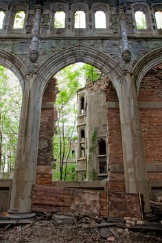 Abandoned City Methodist Church, Gary, Indiana. Plan to visit this place when it warms up