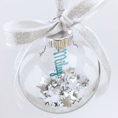 Personalized Christmas Ornaments with name - Personalized Christmas Bauble - Name Bauble - Customized ball Ornaments - Christmas Tree Balls by Zavyanne8 on Etsy https://www.etsy.com/listing/461212440/personalized-christmas-ornaments-with