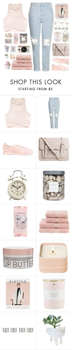 """""""2 years on polyvore! + description"""" by via-m ❤ liked on Polyvore featuring Rituals, Topshop, adidas, Pieces, Disney, Threshold, Josie Maran, Christy, Korres and Urban Outfitters"""