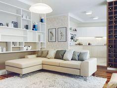 Интерьер 4-комнатной квартиры от студии Perspective