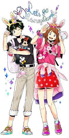 Let's go Disneyland! • BのHA