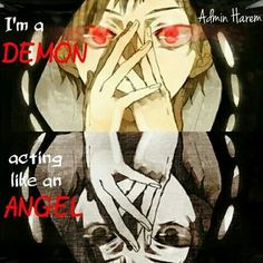 Its true ppl call me satan and she devil i was never like that but, inside thats who i am now