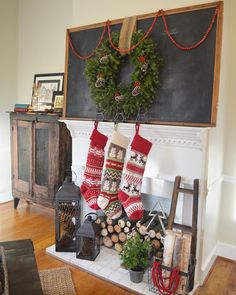 Farmhouse Christmas Tour 2015 | Little White House Blog | Stillwater Farm