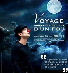 Lionel Cecilio a écrit voyage dans les mémoires d'un fou en s'inspirant de Gustave Flaubert. Dans ce voyage surprenant, il nous emmène avec lui...