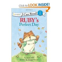 Ruby's Perfect Day (I Can Read! / Ruby Raccoon): Susan Hill, Margie Moore: 9780310720249: Amazon.com: Books