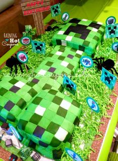 5th birthday zombie cakes - Google Search