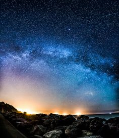 139/365 - Milky Way Arching Across The Sky By Chad Powell Design and Photography