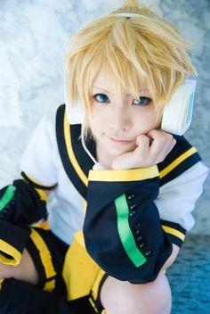 Vocaloid - Kagamine Len cosplay