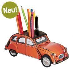 Werkhaus Shop - Stiftebox 2CV Ente - Orange