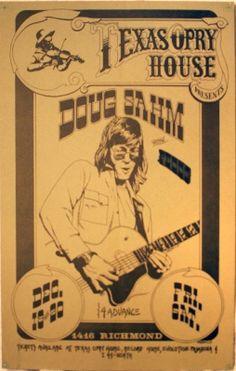 Doug Sahm at Texas Opry House in Houston, TX. 1976 (Dec. 19th & 20th).