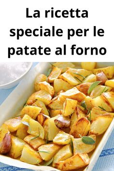 Potato Recipes, Pasta Recipes, Chicken Recipes, Cooking Recipes, Standard Recipe, Antipasto, Roasted Potatoes, Fitness Nutrition, Main Meals