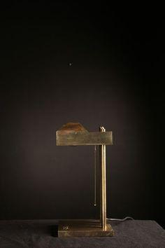 Marcel Breuer Lamp in bronze, America 1925 Breuer, Marcel (1902 - 1981)