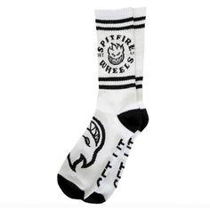 SPITFIRE Sock Classic Bighead chaussettes de skate white black 15,00 € #skate #skateboard #skateboarding #streetshop #skateshop @playskateshop