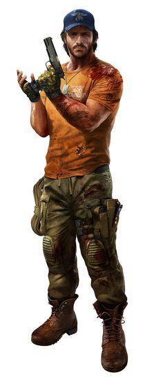 John Morgan - Dead Island: Riptide Character Concept by Atomhawk Design