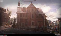 ArtStation - Uncharted 4: City Chase Modeling Part1, Rogelio Olguin