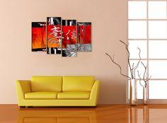 NOVEDAD! Cuadro en lienzo Letra china, Arte, Dibujo, Arte, Pintura, Arte, Fotografía, Hogar, Cuadros