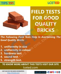 Types Of Bricks, Types Of Foundation, Civil Engineering Construction, Pvc Pipe Crafts, Masonry Work, Labs, Civilization, Steel, Building
