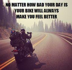 No doubt! | #bikerquotes #CycleCrunch #rideon | Thank you Harley-Davidson of Long Branch www.longbranch.com