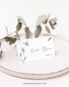 Elegant Wedding Place Card Templates Purchase, personalize, and print within minutes! Edit using the Templett app in your computer browser – no additional software needed! Please try demo and seek clarification before purchasing the template. FREE DEMO ━━━━━━ Boho Wedding Flowers, Boho Wedding Decorations, Wedding Ideas, Wedding Invitation Etiquette, Wedding Invitation Templates, Wedding Invitations, Place Card Template, Card Templates, Wedding Places