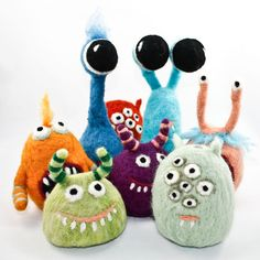 more felt monsters