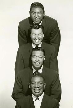 The Ink Spots - one of the first bands or singers I knew by name. My father listened to them and I listen to them still. My teenage daughter discovered them on her own. Thus the family love of The Ink Spots continues into a new generation.