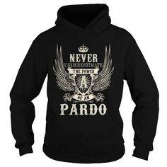 I Love PARDO PARDOYEAR PARDOBIRTHDAY PARDOHOODIE PARDONAME PARDOHOODIES  TSHIRT FOR YOU Shirts & Tees