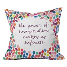 DENY Designs Garima Dhawan Imagination Oudoor Throw Pillow