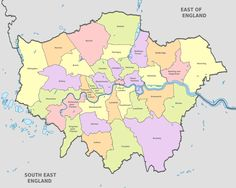 London Districts for WIP Research