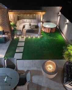 Back Garden Design, Terrace Design, House Yard Design, Small Back Garden Ideas, Backyard Patio Designs, Small Backyard Landscaping, Backyard Ideas, Patio Ideas, Diy Patio