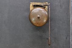 Brass Boxing Ring Referee Rounds Bell : Modernfifty 20th Century Vintage Furnishings & Design
