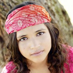 09a39b605812 Pink   Orange Extra Wide Headband Headbands For Women
