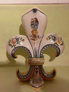 Antique Quimper Vase