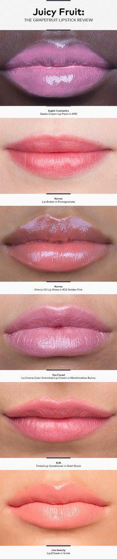 Juicy Fruit: The Grapefruit Lipstick Review