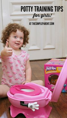 With potty training tips for girls you'll be ready to tackle the next stage in parenting!