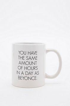 Same hours as Beyonce