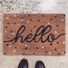 I don't think Typo sells this doormat anymore but it should be an easy enough DIY